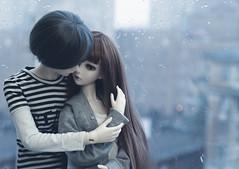 (Jane Kolyadintseva) Tags: love rain kids doll spirit gray miri illusion romantic bjd mystic gino