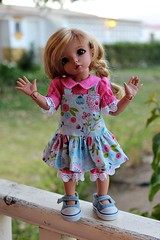 Little Fee summer sets... (dambuster01) Tags: tinies sewing fiona normal resin summerdress fairyland tanned ante bjds yosd littlefee