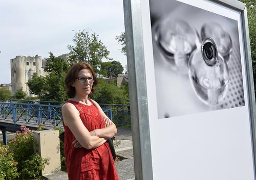Vernissage de l'exposition de treize jeunes photographes amateurs niortais au square Henri-Georges Clouzot© Darri
