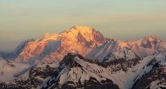 Couleurs du Mont-Blanc (nathaliedunaigre) Tags: montblanc alpes montagnes mountains france sunsetlight lumière coucherdesoleil light paysage landscape