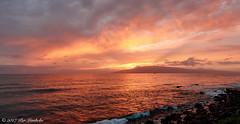 Lanai Sunset II (Thanks for over 1.7 Million Views!) Tags: lahaina puamana hawaii lanai sunset sony dscrx100m4 seascape puestadesol