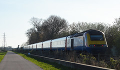 43073 (TRRPG Admin (Pending)) Tags: 43073 passing attenborough rear 1b63 nottingham london st pancras east midlands service hst high speed train inter city 125 nature reserve
