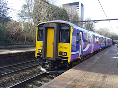 Northern 150223 @ Gorton (Sim0nTrains Photos) Tags: class150 sprinter northernclass150 class1502 brelyork brel dmu dieselmultipleunit northern northernrail gortonrailwaystation woodheadroute thewoodheadroute hopevalleyline northtranspennine 150223