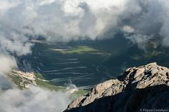 Campo Imperatore dal Corno Grande (filippocastellucci) Tags: gransasso abruzzo montagna mountains italy italia appennini paesaggi landscape