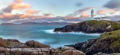 Fanad Head Lighthouse - Donegal, Ireland (Swavek Skibinski) Tags: fanadhead donegal ireland longexposure sea ocean serene sunset sky clouds cliffs canon80d sigma1835mmart hoyaprond1000