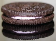 Strawberry cream in between (Carn13) Tags: cream strawberry biscuit cookie macromondays thespaceinbetween