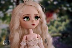 Daenerys Targaryen (Kiki and her dolls) Tags: faceup pullip pullipdoll doll isul taeyang byul dal yeolume pullipcustom mio miokit custom customdoll bjd obitsu handmade makeup jewellery got daenerys daenerystargaryen kiki kikiandherdolls kikiandchrysanthemum ooak commission