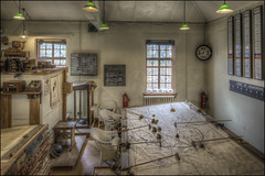 DUXFORD WW2 Operations room (Darwinsgift) Tags: duxford cambridgeshire imperial war museum aviation aircraft ww2 airfield operations room control hdr photomatix pce nikkor tilt shift 24mm f35 ed mf d nikon d810 multiple exposure