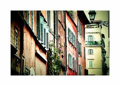 Neighbours (CJS*64) Tags: nikon nikkorlens nikkor cjs64 craigsunter cjs rome italy europe colour street windows neighbours urbanrome urban colours d7000 nikond7000 trip city