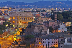 Epoche / Ages (Rome, Lazio, Italy) (AndreaPucci) Tags: colosseum rome lazio italia italy roma colosseo night notte amphitheatre anfiteatro flavio flavian andreapucci canoneos60