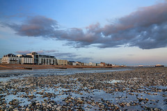 2017_02_24_0325_6_7_fused (EJ Bergin) Tags: beach seaside worthing westsussex sunset lowtide seafront clouds hdr exposurefusion theburlington thebeachhotelandresidence worthingpier