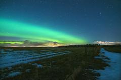 Arc of Aurora (Len Langevin) Tags: auroraborealis northernlights night sky longexposure alberta canada nature nikon d300s tokina 1116