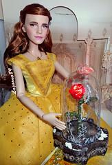 Ballgown Belle LE (Lagoona89) Tags: disney beauty beast batb limited edition le belle doll enchanted rose ornament