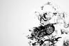 Smoke (cowboy72) Tags: photoshop steampunk model goggles smokeart blackandwhite monochrome