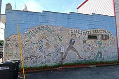 Saranac Lake Mosaic Wall (jschumacher) Tags: newyorkstate saranaclakenewyork saranaclake upstate adirondacks mosaic