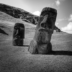The most photogenic moai