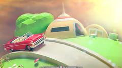 Modelado 3D LowPoly- 3ds Max + Mental Ray - Planeta Kaio  - Render Full HD (Juan Camilo Bedoya Vargas) Tags: photoshop 3d render dragonball dragonballz lowpoly mentalray kaio kaiosama catapiz camyzeta juancamilobedoyavargas