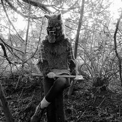 tire-toi donc une bûche (sonyacita) Tags: blackandwhite werewolf square mask axe utata:project=ip197