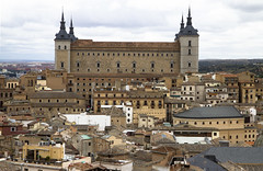 Toledo Spain cityscape (San Diego Shooter) Tags: architecture landscape spain europe cityscape toledo toledospain toledospaincityscape nathanrupertspain2014nobull nathanrupert2014spainwithbull