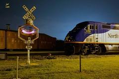 NC DOT 1755 @ Spencer, North Carolina (Twenty17Teen Photography) Tags: trains railroads streamliners trainphotos railroadphotos northcarolinatransportationmuseum railroadimages