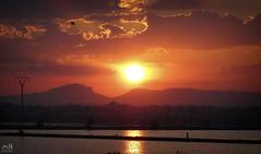 San Pedro de Pinatar. Junio 2014_4 (MSB.Photography) Tags: sunset sky espaa clouds atardecer spain sony salinas murcia cielo lamanga hdr saltworks sanpedrodepinatar hx50 dschx50