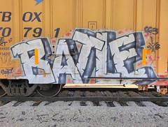 Batle 663K (m_ts42) Tags: art train bench graffiti battle spraypaint graff piece traingraffiti batle 663k batler batlerip