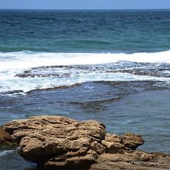 Israel (adrianying) Tags: ocean sea beach water israel nikon d7000 nikond7000