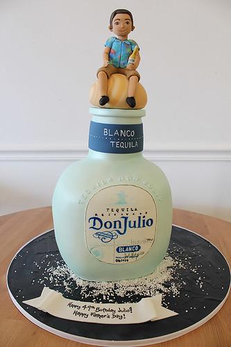 Tequila Bottle Cake