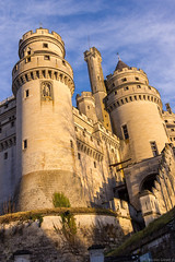 Pierrefonds castle sunset (NykO18) Tags: sunset france castle monument europe manmade picardie oise pierrefonds châteaudepierrefonds