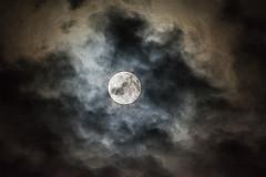 Luna entre nubes (cives-expat) Tags: españa moon clouds spain luna nubes andalusia cádiz