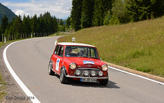 Arlberg Classic Car Rally 2014 (Kim Drotz) Tags: road mountain classic car austin austria tirol rally mini s cooper tyrol 1964 2014 arlberg