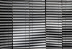 Venetian blinds (Jan van der Wolf) Tags: abstract monochrome lines denhaag minimalism minimalistic thehague less lijnen lessismore monochroom minimalisme jaloezieën map12515