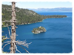 Island at Emerald Bay (Schnauzergal) Tags: laketahoe deadtrees