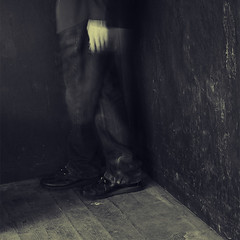 Asylum (Aaron Sehmar) Tags: fiction portrait colour mystery danger square photography freedom noir character safety mysterious cinematic anonymous narrative fineartphotography protagonist novella illusive oneiric journeyescape aaronsehmarphotography