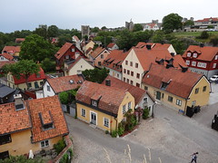 Visby on Gotland Sweden. (denisbin) Tags: houses town visby sweden gotland medieval hanseatic viking