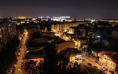 Week 30 of 2014 (xevaz) Tags: panorama night buildings lights view neighborhood bucharest palatulparlamentului palaceoftheparliament