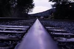 Avon Rail (matthewsdean78) Tags: road railroad fall water rock waterfall movement colorado rocks tie rail move vail co avon steal excalator ballest