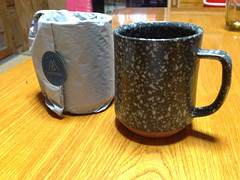 Mazama Ware (SaigoDon) Tags: japan ceramics kagoshima   coffeemug isa kyushu   anniversarypresent kagoshimaprefecture  isashi iphoneography  mazamaware