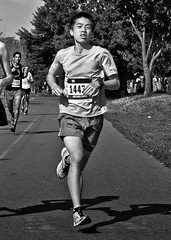 MEC Toronto Race Four 5K 10K The Summer Classic 2014 (thelearningcurvedotca) Tags: city summer portrait people urban blackandwhite toronto on