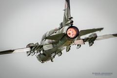 """Polish Power"" (SJAviation.net) Tags: nikon aircraft aviation military jet airshow fairford riat fitter sukhoi afterburner jetwash su22 polishairforce"