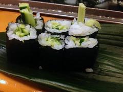 Cucumber roll sushis from Sushi Daizen @ Ginza (Fuyuhiko) Tags: from sushi tokyo ginza cucumber roll   sushis     daizen