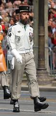Fte nationale. Dfil aux Champs Elyses. Paris, Juillet 2014 (Bernard Pichon) Tags: chien canon chars c130 chevaux a400 hlicoptre c160 rafale marinenationale armedeterre garderpublicaine chasseuralpin lgiontrangre armedelair pilotedechasse spas bpi760