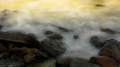 Kemala Beach (fahrursiddiq) Tags: beach indonesia rocks borneo kalimantan balikpapan eastborneo kemala