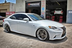 2014 Lexus IS350 Nessen Forged S|5.2V2S 19x9 and 19x10.5 Lowered with BC Racing Coilovers (Autoglitz) Tags: bc with racing lowered forged lexus coilovers 2014 is350 nessen 19x9 19x105 autoglitz s|52v2s
