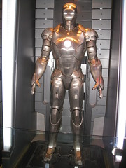 Ironman armor - IMG_6810 (tend2it) Tags: california movie losangeles mark disneyland ironman armor rides marvel mk attractions