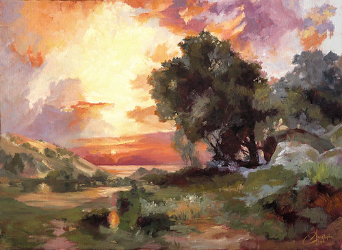 Landscape-of-the-Masters,-Study-of-Thomas-Moran