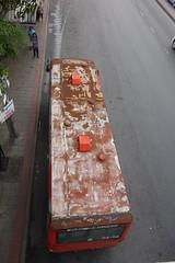 bus roof (the foreign photographer - ) Tags: road roof bus thailand bangkok sony rusty mai sapan bangkhen rx100 phahoyolthin sephan