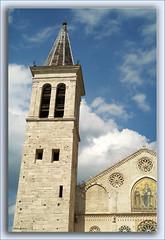 Il Duomo di Spoleto (Mauro Bettarel) Tags: city cielo duomo spoleto architettura umbria citt