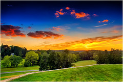 Sunset (Jas Bassi) Tags: sunset colors nikon bluesky jas buckscounty brynathyn jassi nikoncamera beautifulsunset bluemoment romanticsunset alienskinsnapart nikon2470mm colorofsunset jasbassi jasbassiphotography bluemomentphotography jasjasbassi