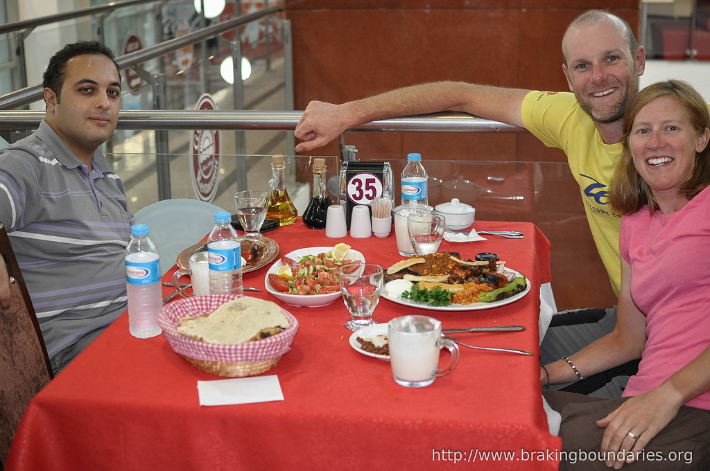 Dinner with Kürşat in Tatvan